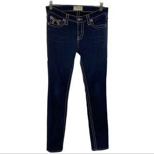 Big Star Liv Skinny Blue Jeans Size 28